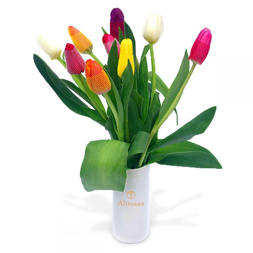 Tulipanes del amor | Alirosas florería online | Delivery
