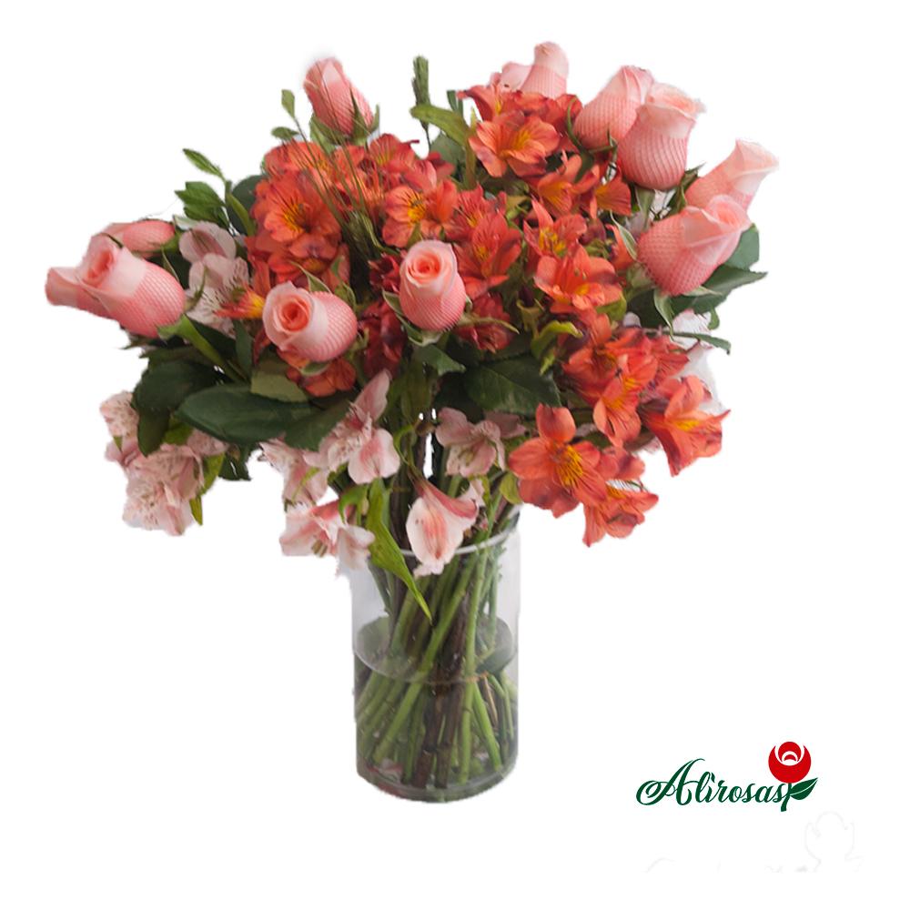 rosas rosadas: alirosas.pe