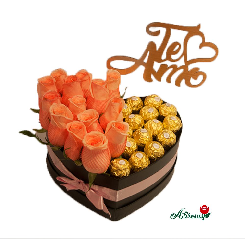rosas chocolate