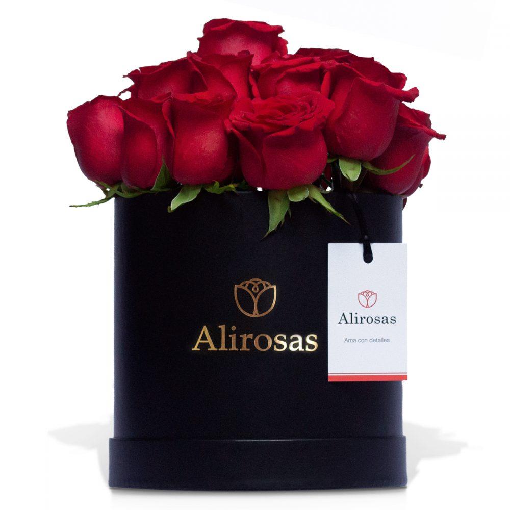 Box de 24 Rosas rojas