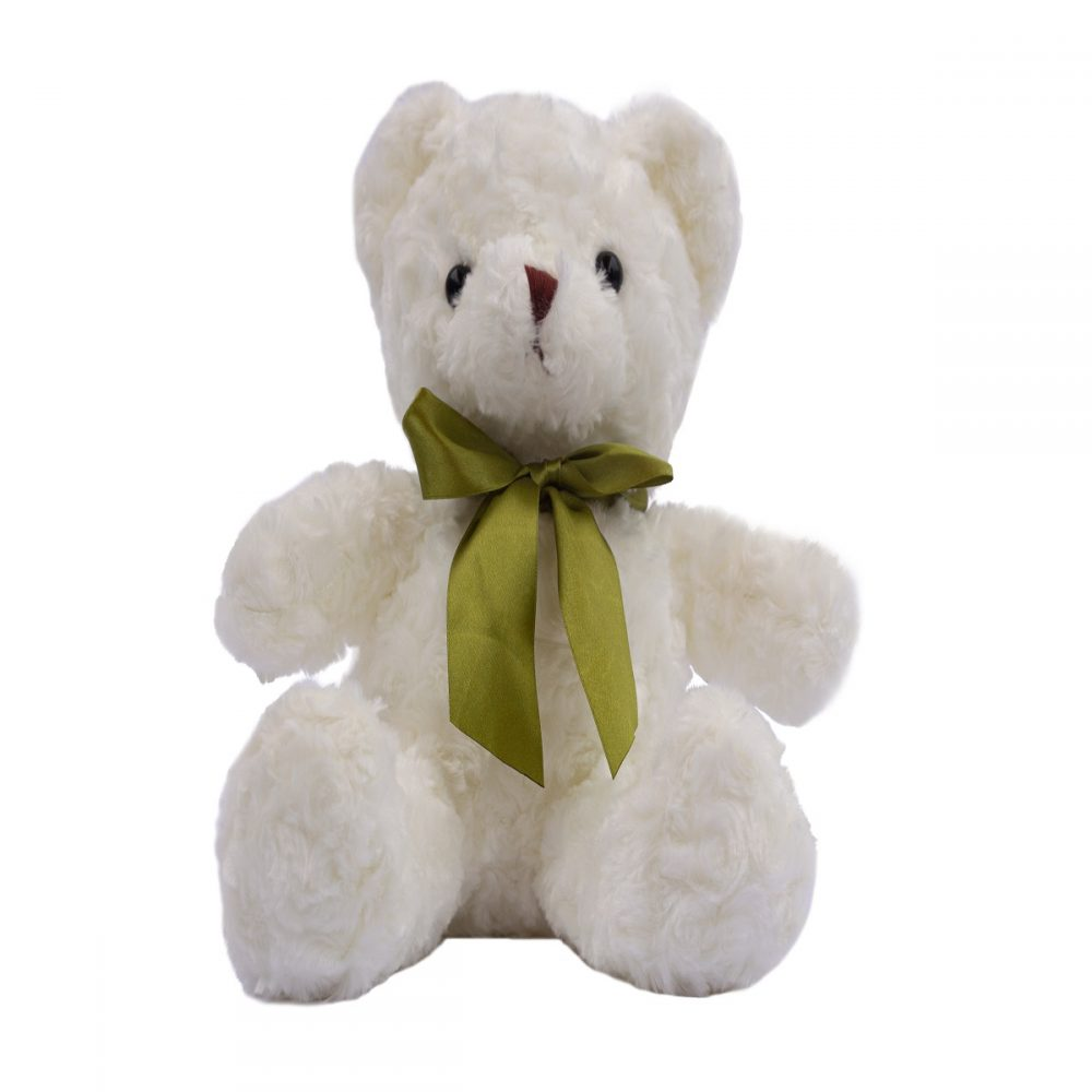 Oso de peluche Teddy blanco