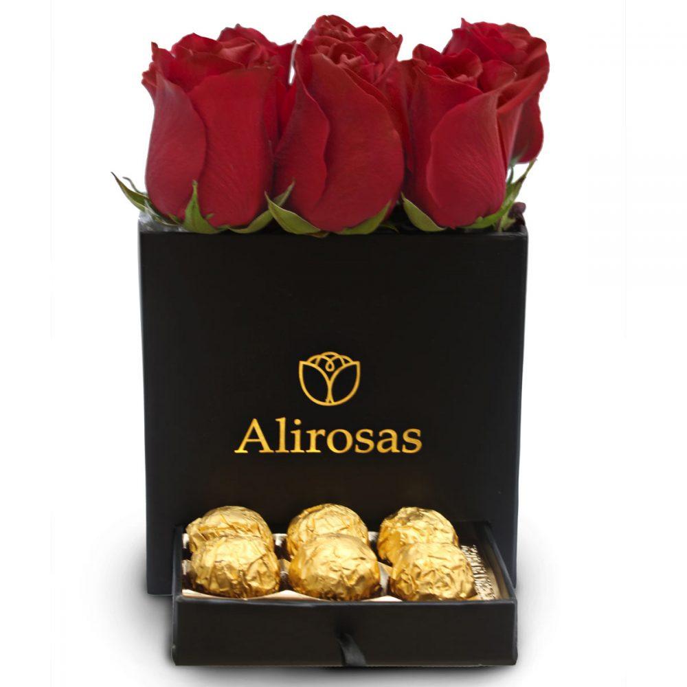 Arreglo de rosas y chocolates: Delivery y Envio Floreria Surco Alirosas