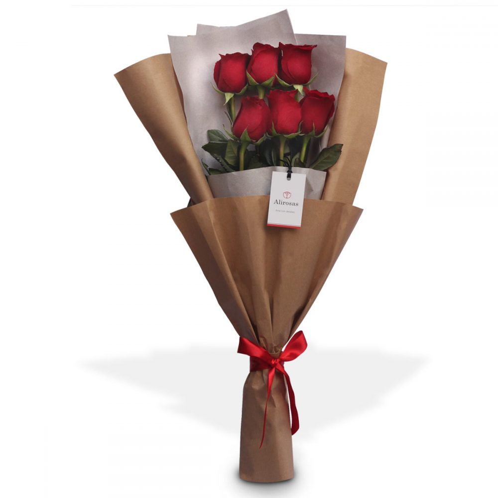ramo de rosas para regalar: enviar por delivery, Floreria Surco Alirosas