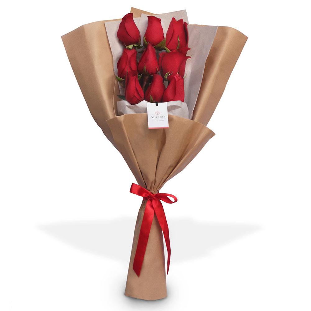 ramo de rosas a domicilio: enviar por delivery, Floreria Alirosas